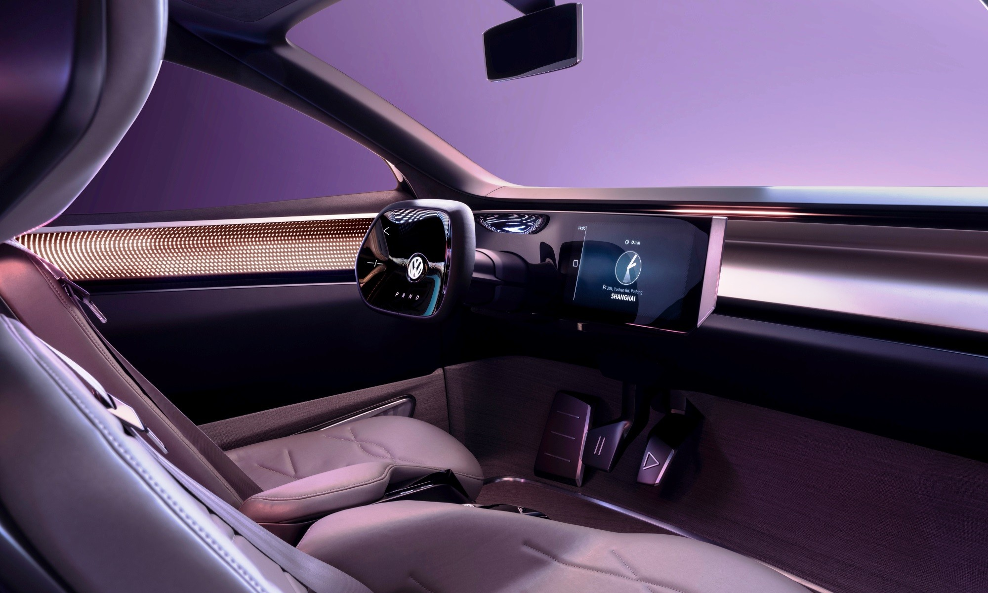 VW ID Roomzz Concept rear interior