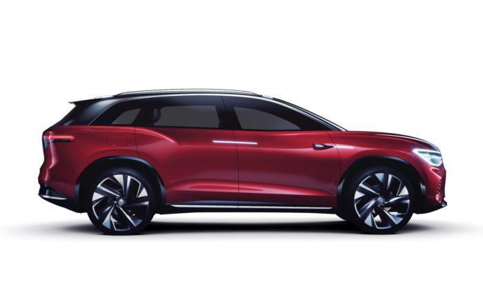 VW ID Roomzz Concept profile