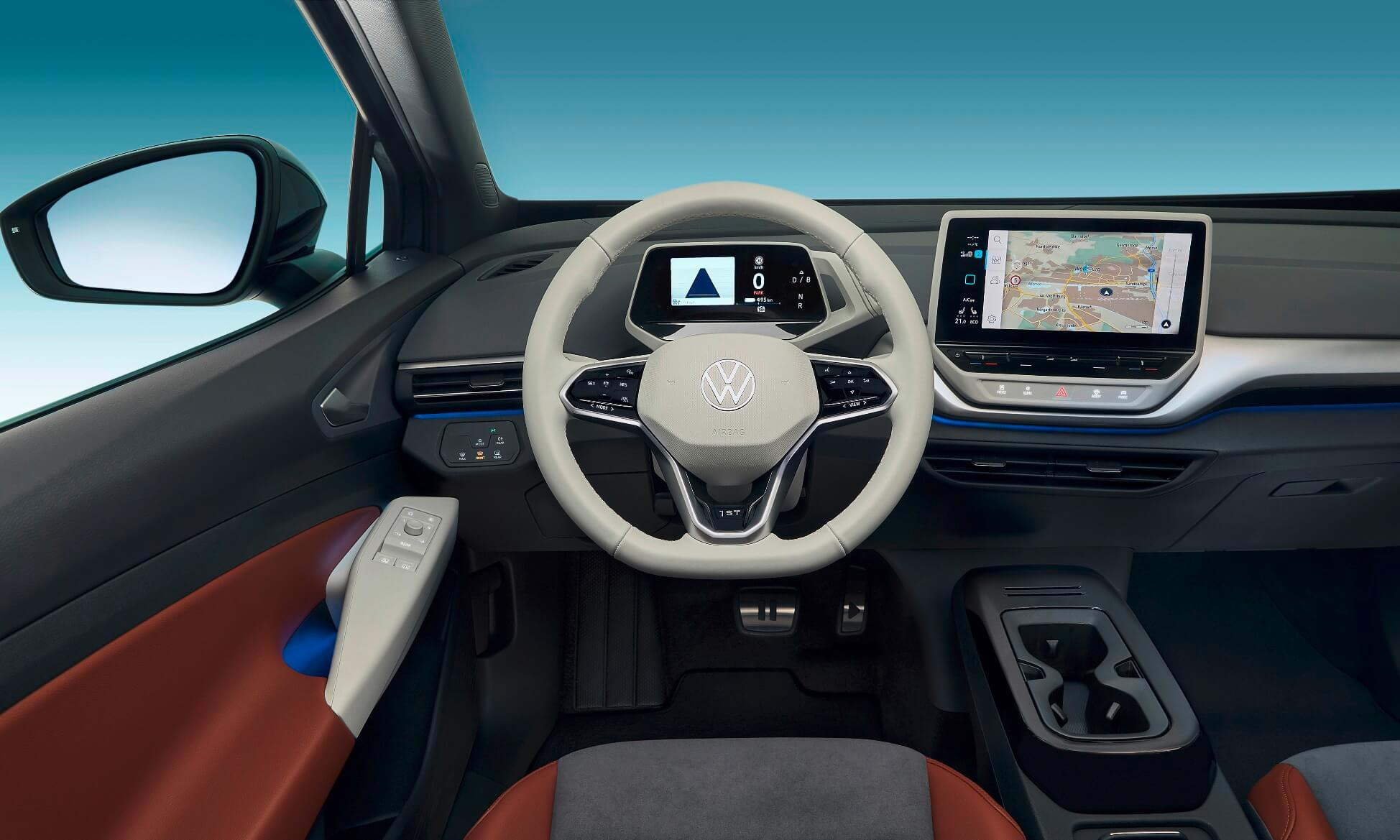 VW ID.4 SUV interior