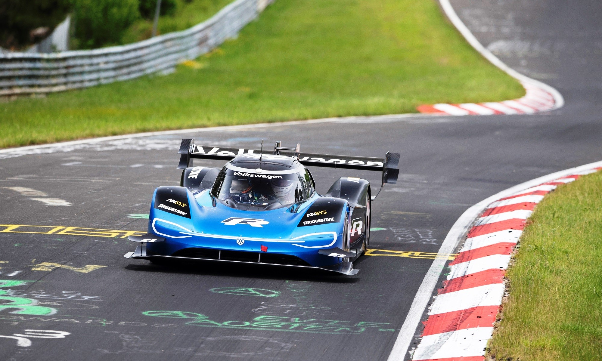 VW ID.R Nurburgring Record front