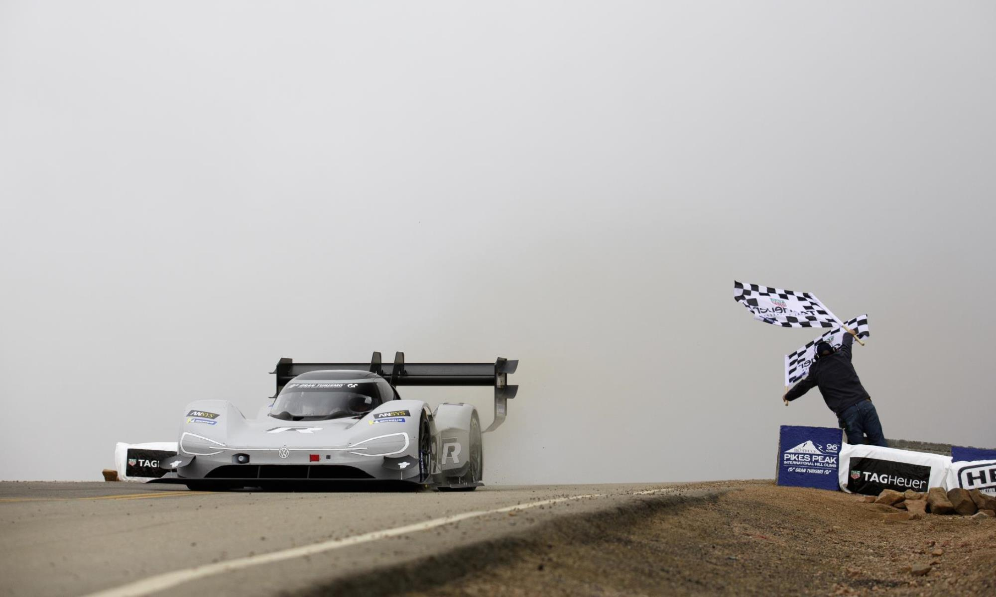 VW ID.R Pikes Peak win