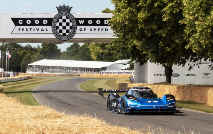 New record for the Volkswagen ID.R at 2019 Goodwood Festival of Speed