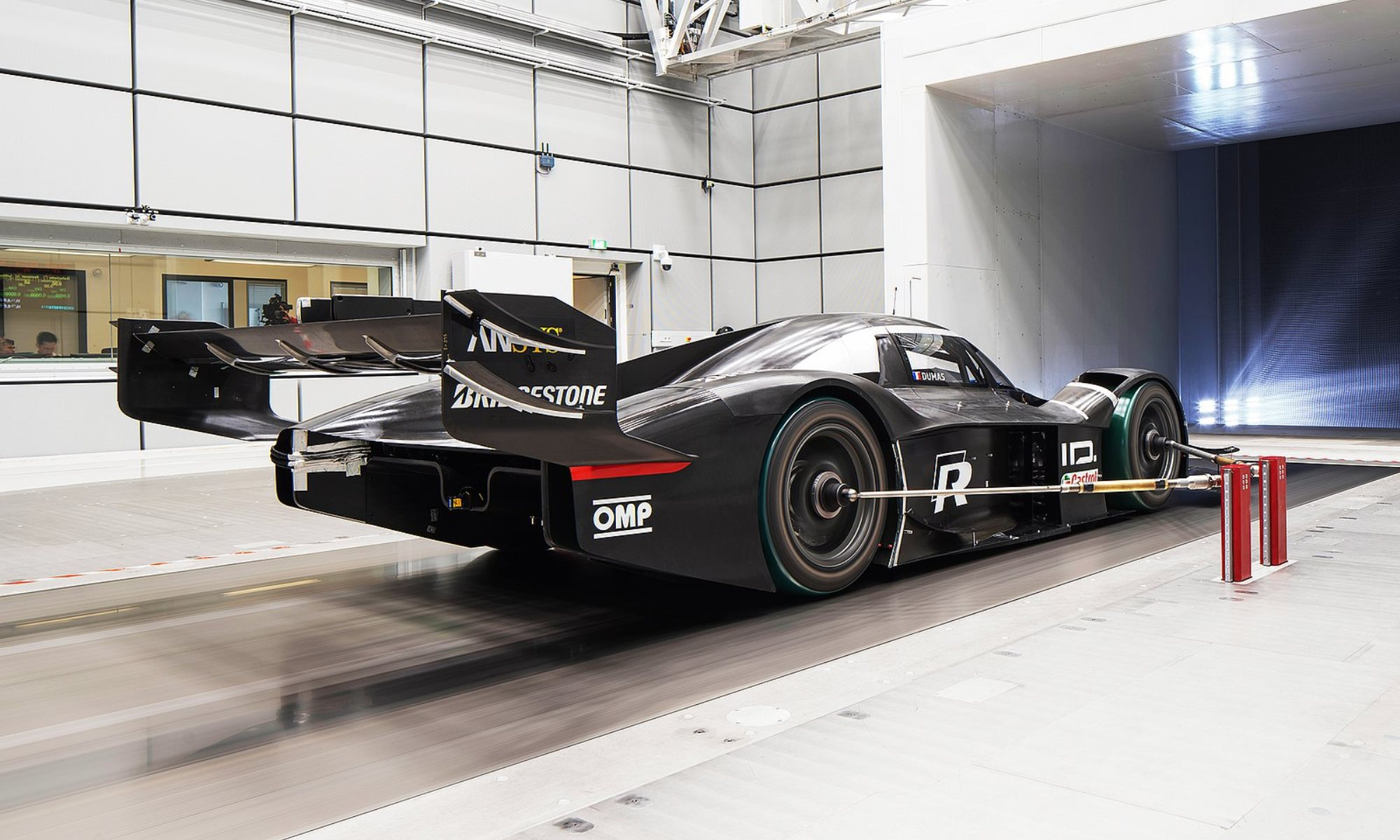 VW ID.R wind tunnel