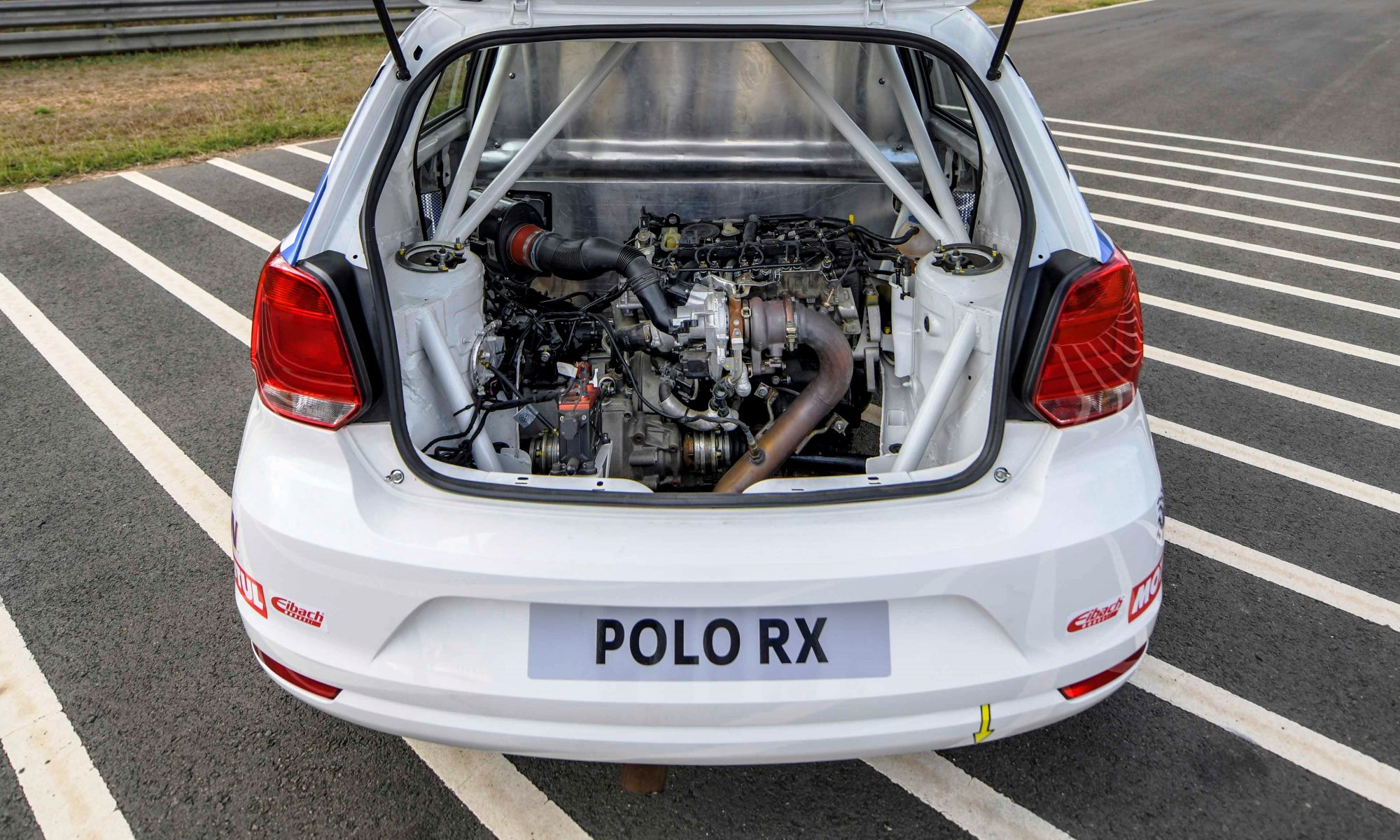 VW Polo RX engine