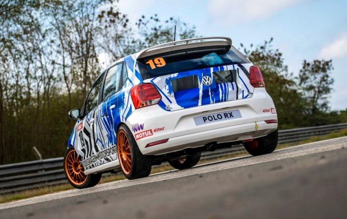 VW Polo RX rear
