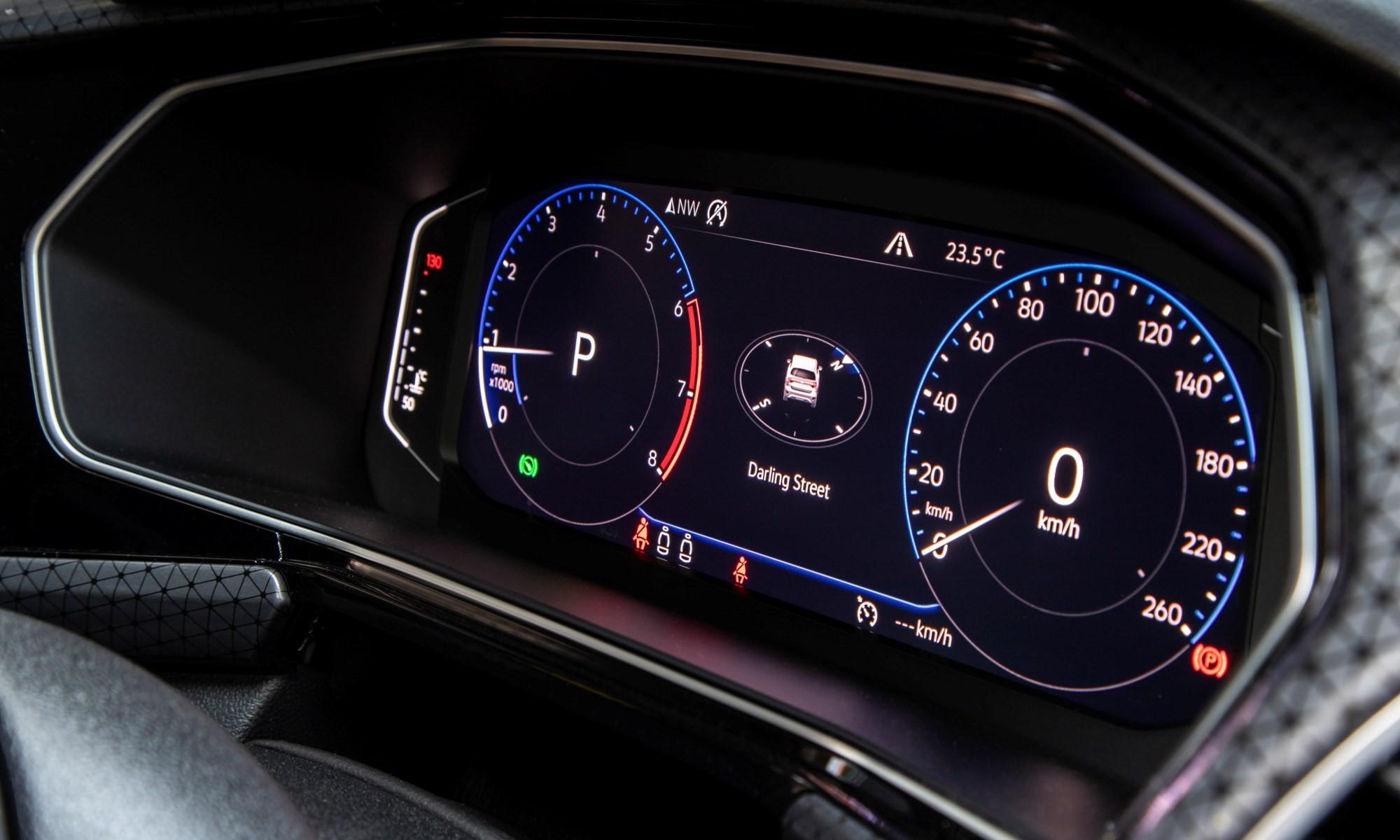 VW T-Cross 1,0 Highline interior