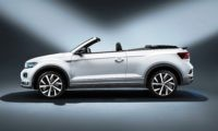 VW T-Roc Cabriolet profile