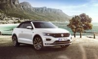 VW T-Roc Cabriolet roof closed front