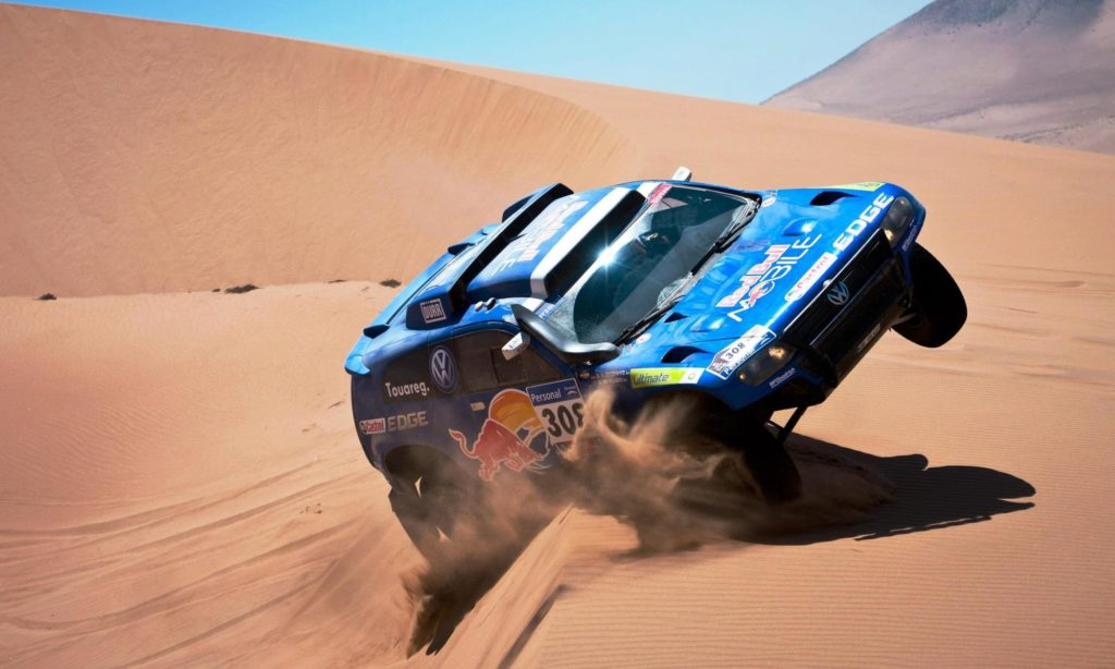 VW dominated the Dakar for three consecutive years with De Villiers winning the 2009 race