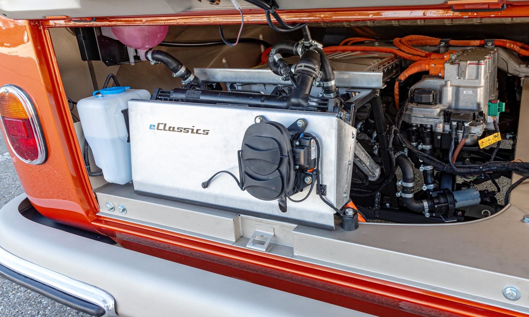 VW e-Bulli motor