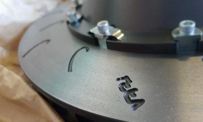 Vari Racing slotted discs