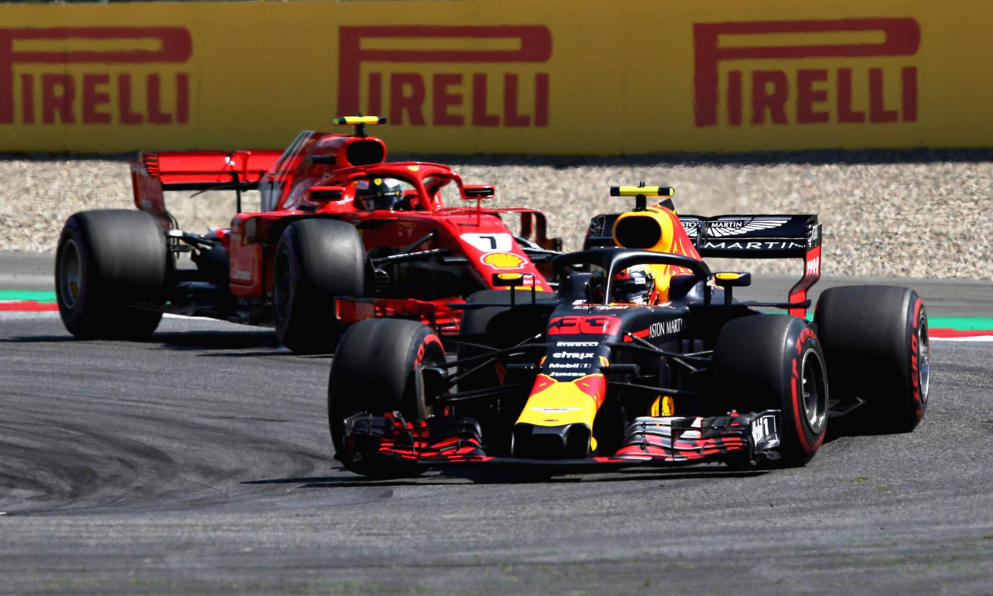 Verstappen and Raikkonen