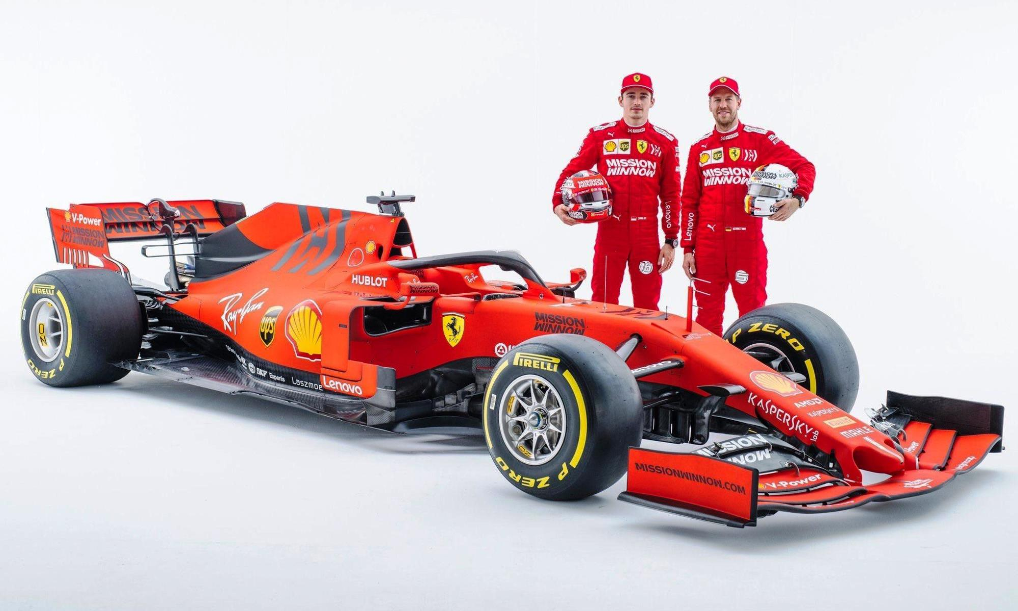 Vettel and Leclerc
