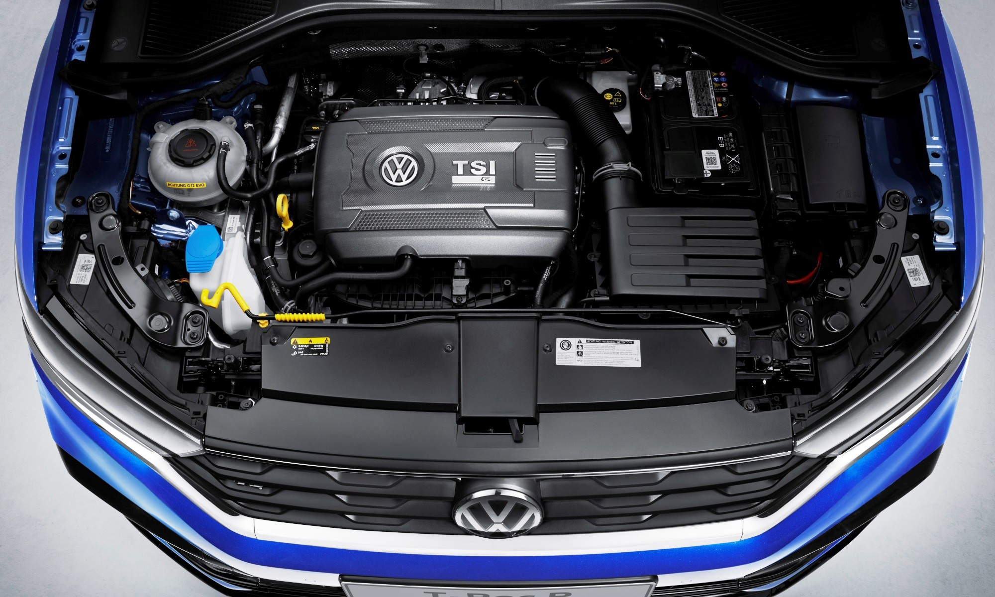 Volkswagen T-Roc R engine