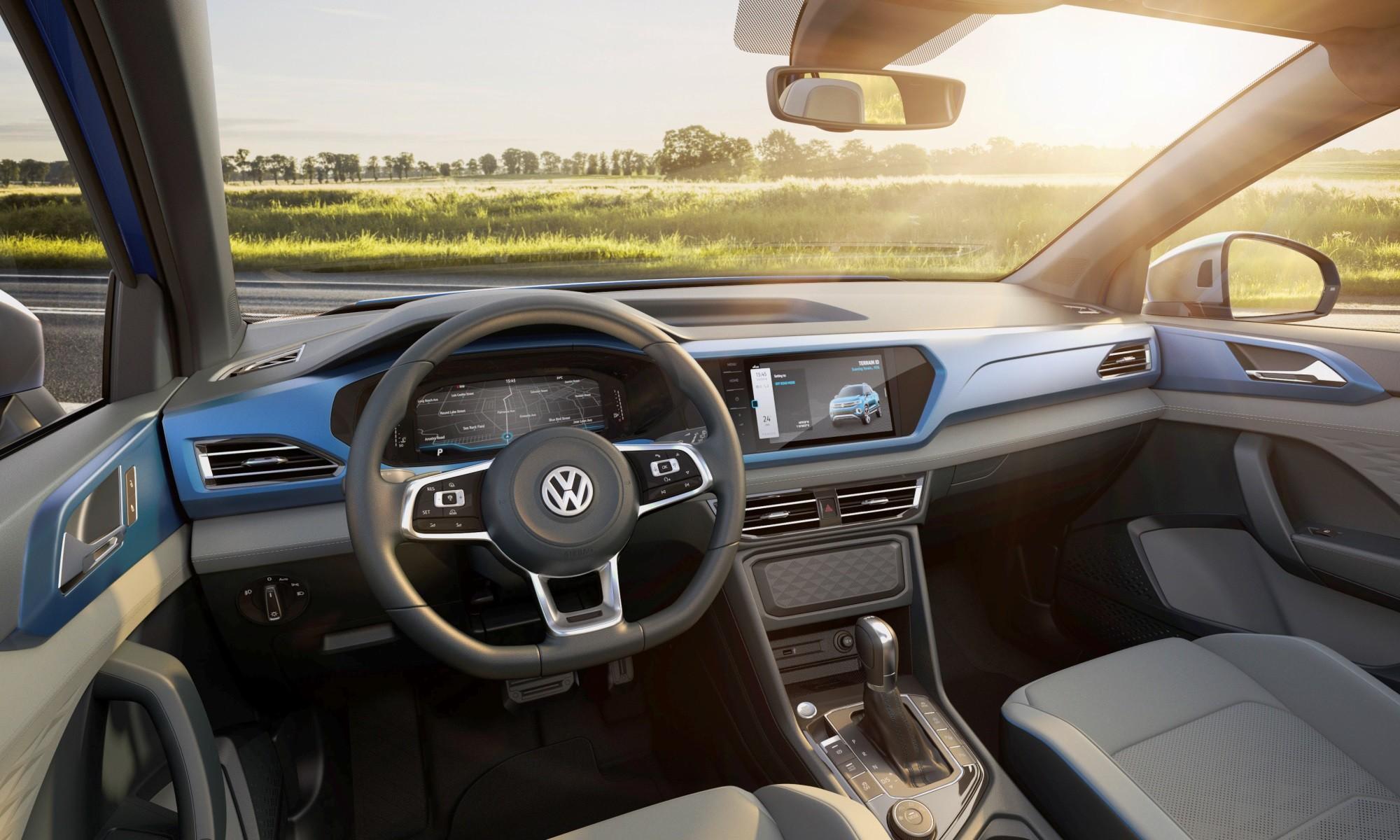 Volkswagen Tarok Concept interior