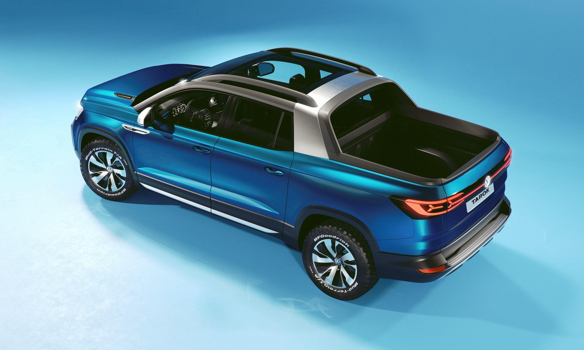 Volkswagen Tarok Concept rear