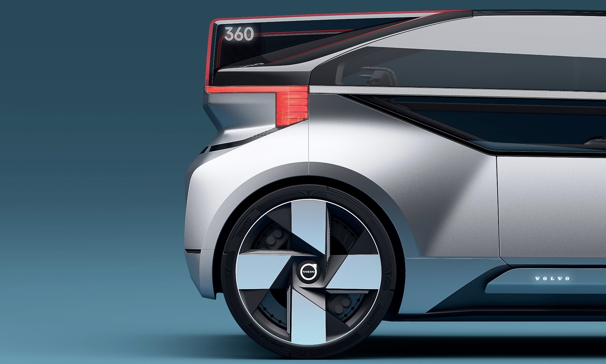 Volvo 360c square lines