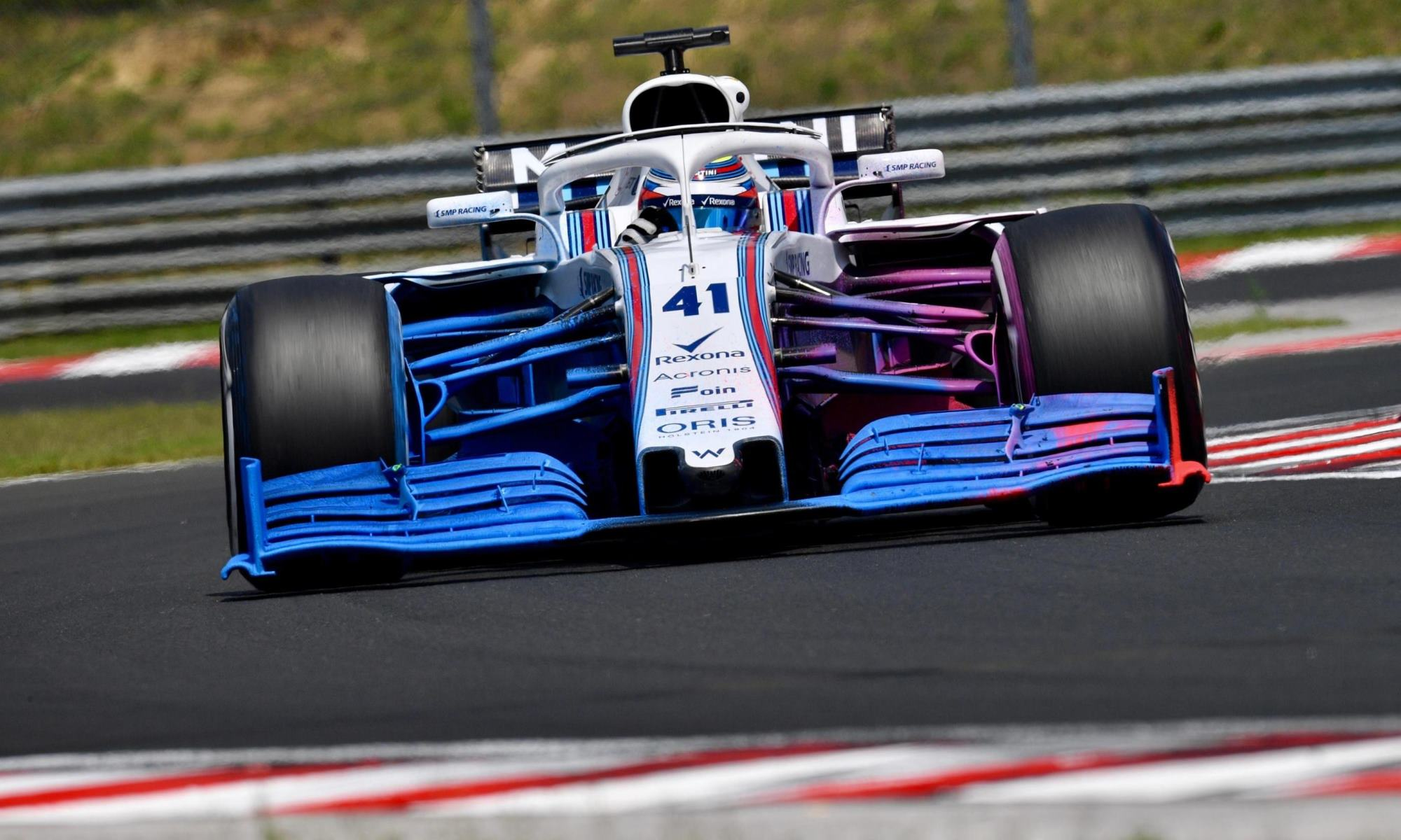 Williams in 2019 testing