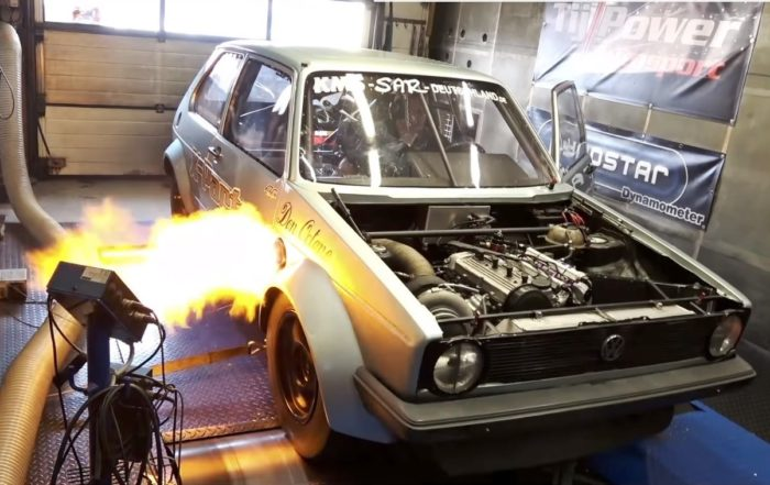 World's quickest Golf on the dyno