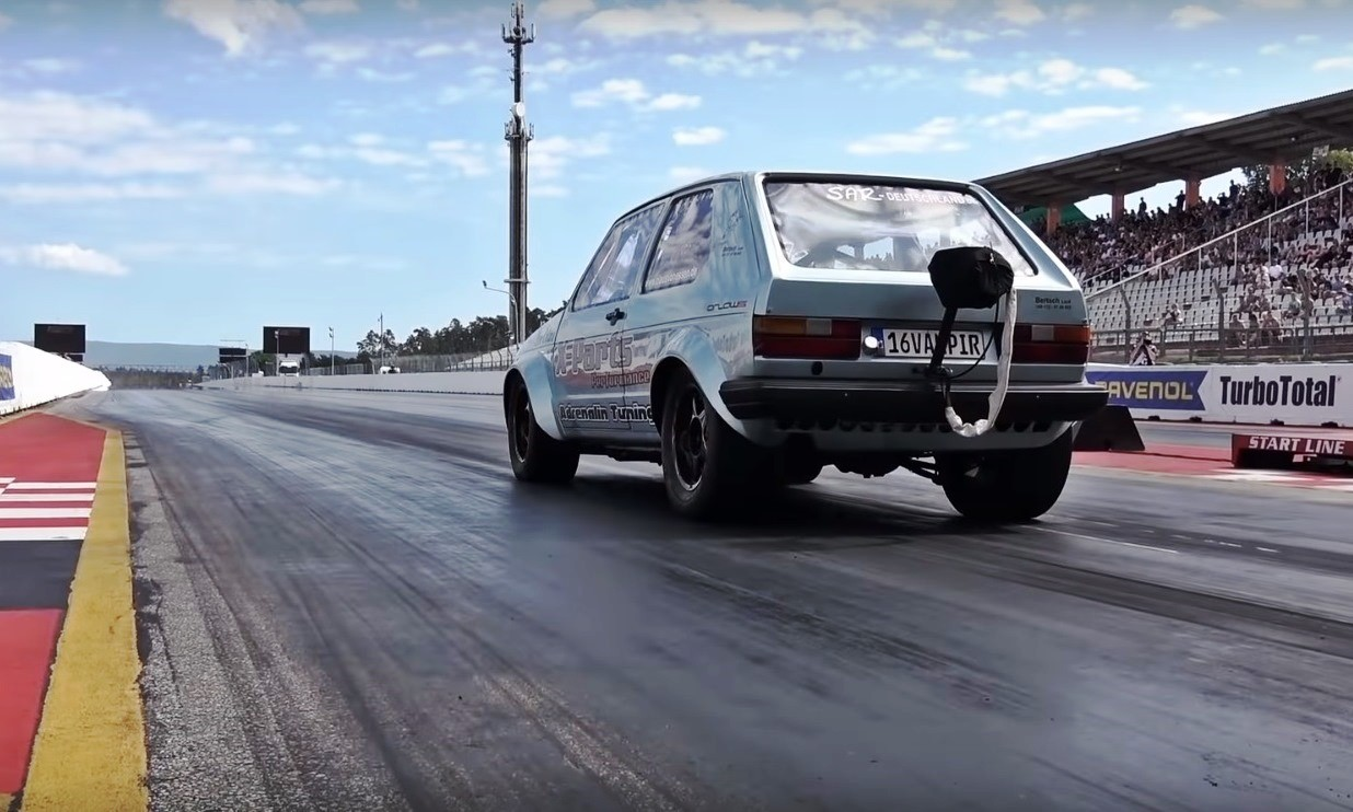 World's quickest Golf rear 1