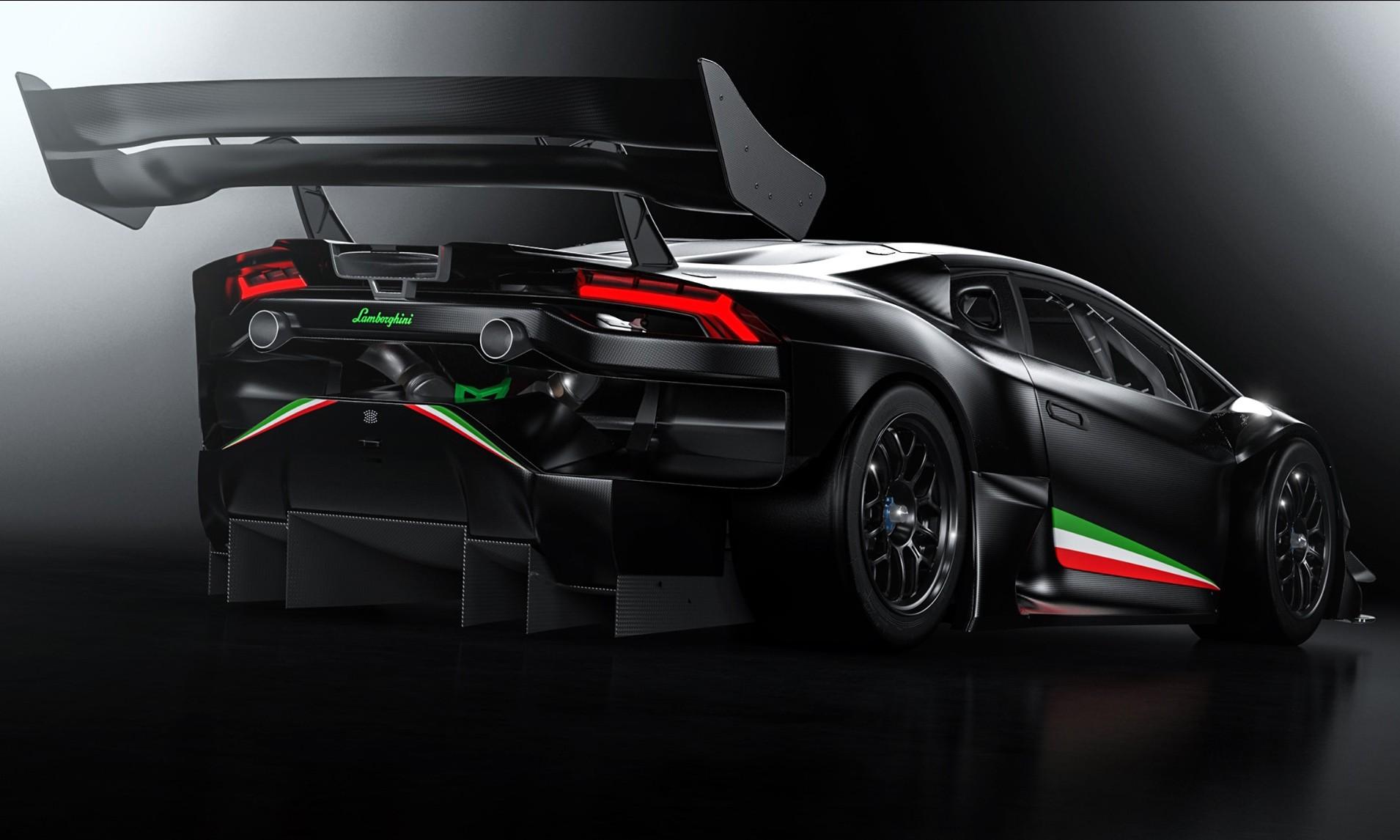 Zyrus Lamborghini LP1200 Huracan rear 1