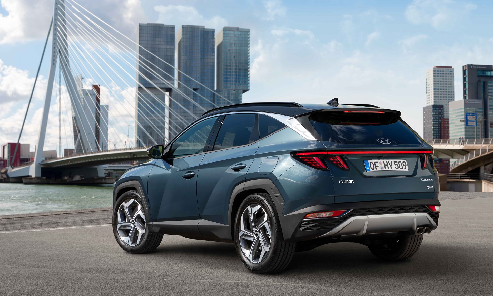 All-new Hyundai Tucson rear