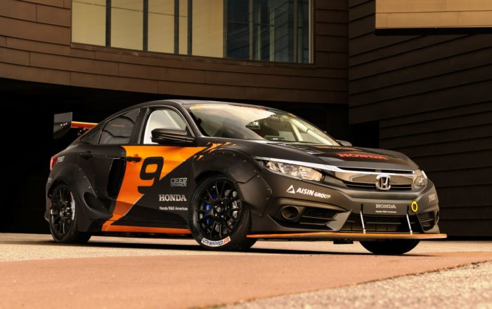 Students build 450 kW Honda Civic