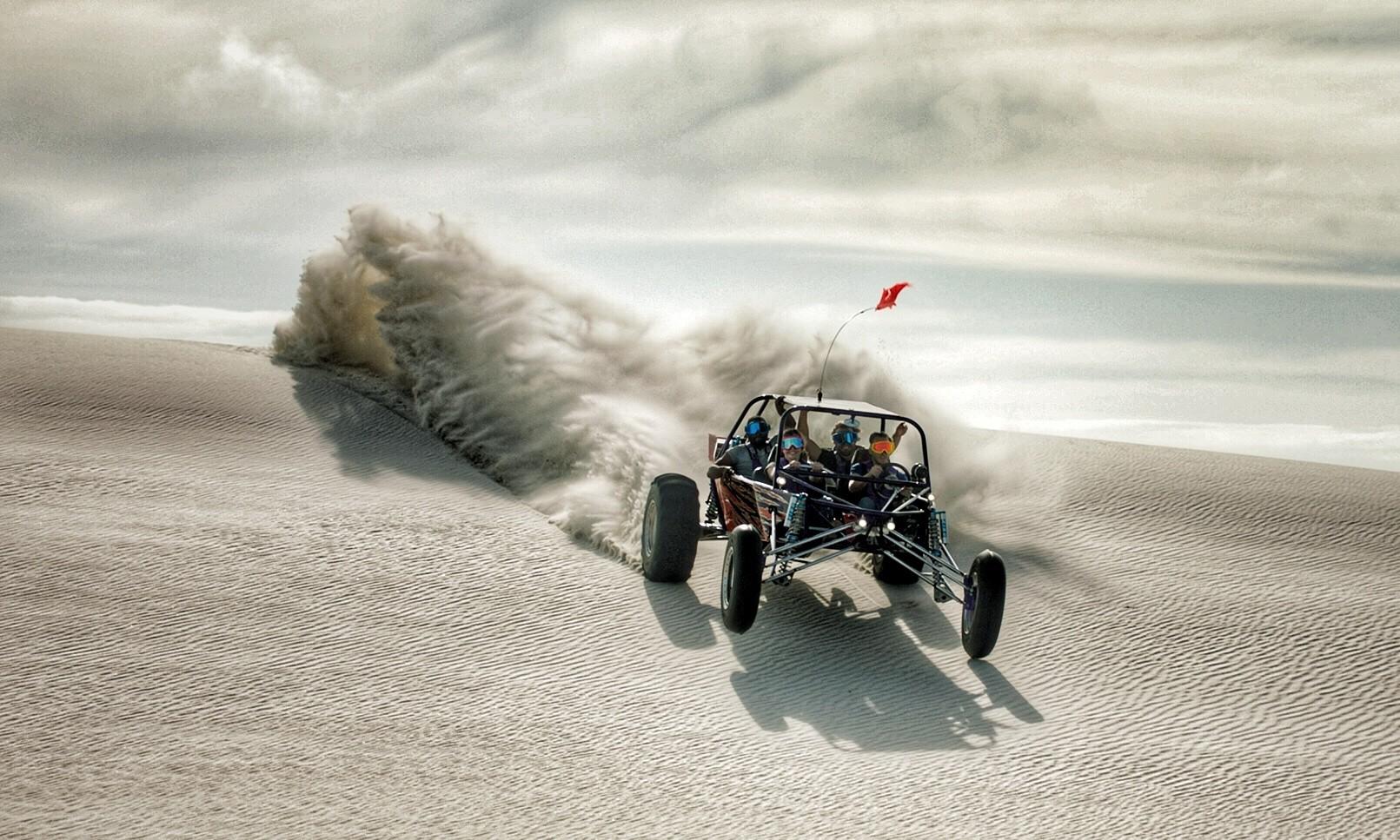 dune thrasher sandblasting