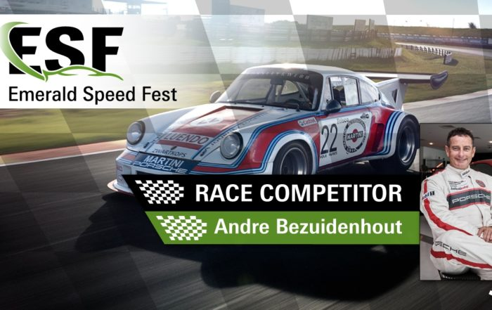 Andre Bezuidenhout at Emerald Speed Fest