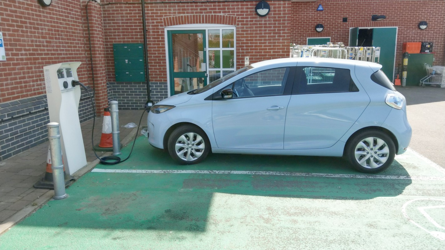 The UK has over 20 000 public charging points for EVs.