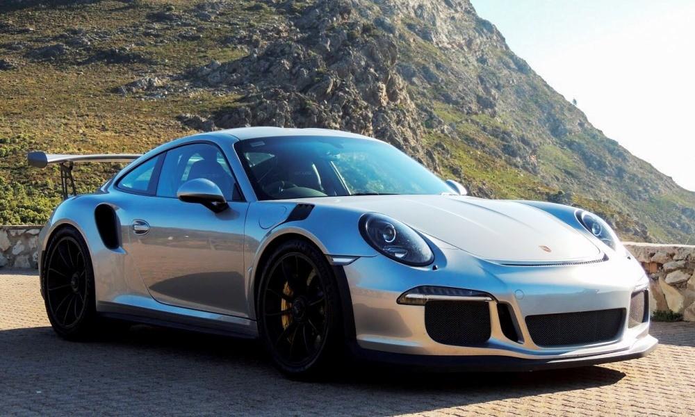 Porsche GT3 RS on Franschhoek Pass