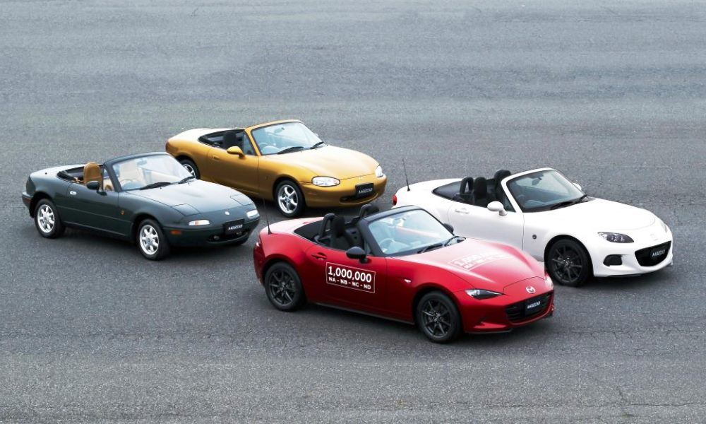 Mazda MX-5 all generations