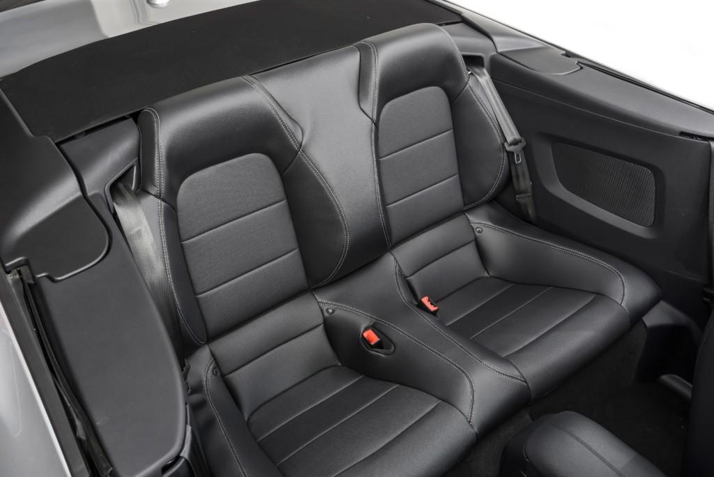 Ford Mustang Convertible rear seats