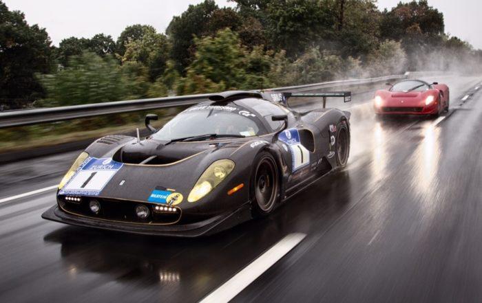 Ferrari P4/5 road and racecars