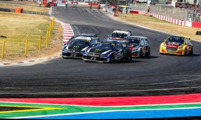 The final round of FIA World rallycross took place in SA