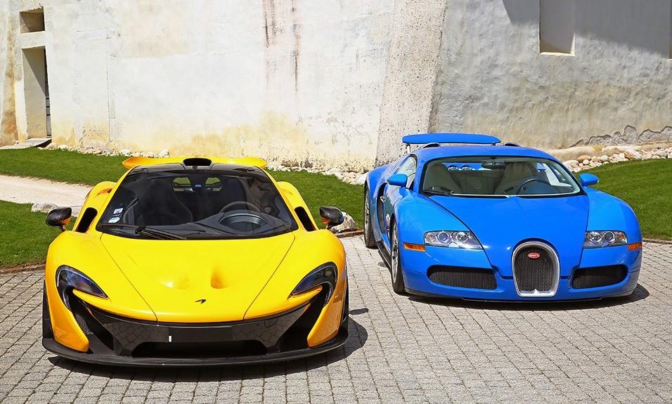 Seized Hypercars on Auction