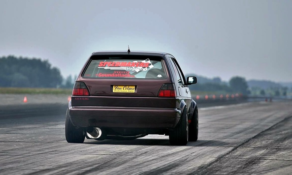 World's Fastest Golf 2 rear